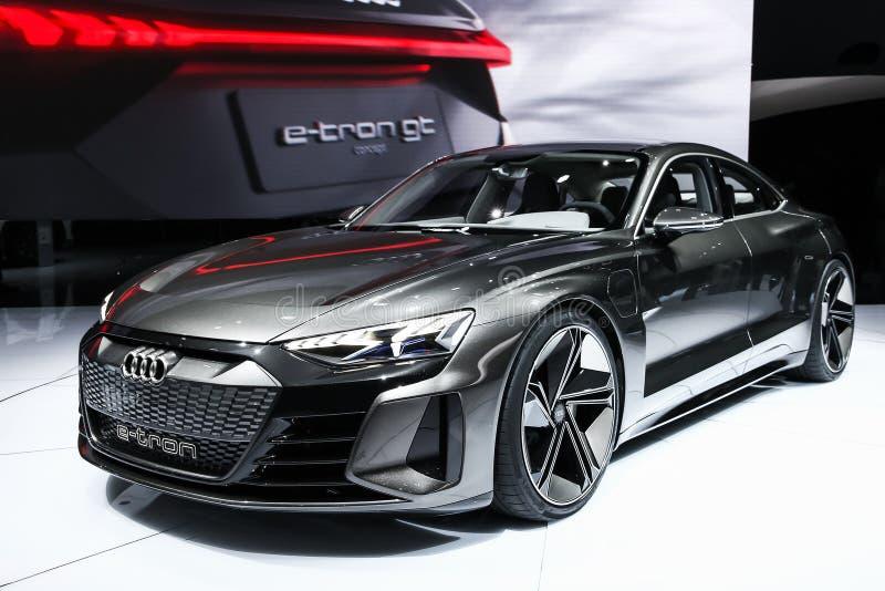 Audi E-Tron GT foto de stock royalty free