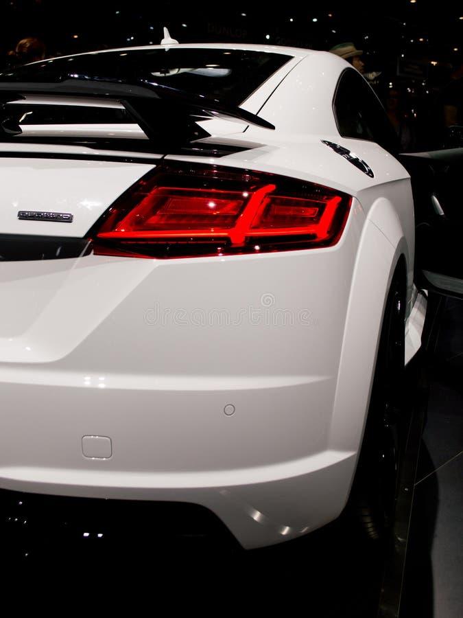 Audi A6 em Genebra 2017 fotografia de stock