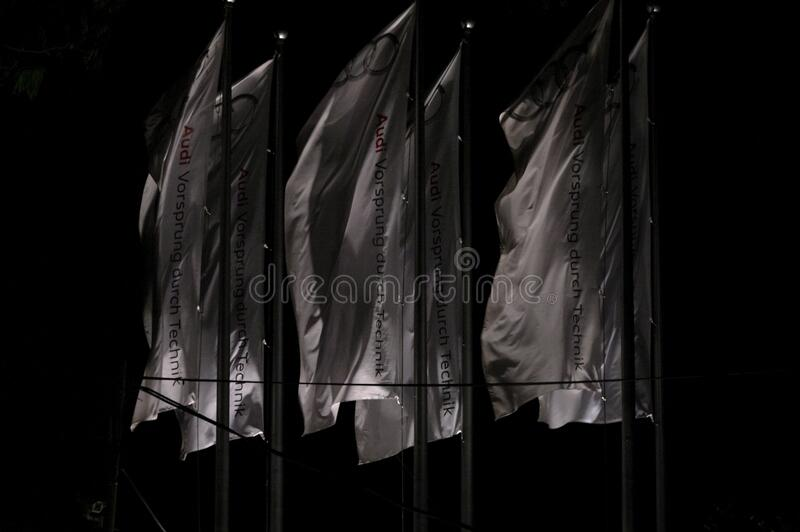 Audi Flags In Black And White Free Public Domain Cc0 Image