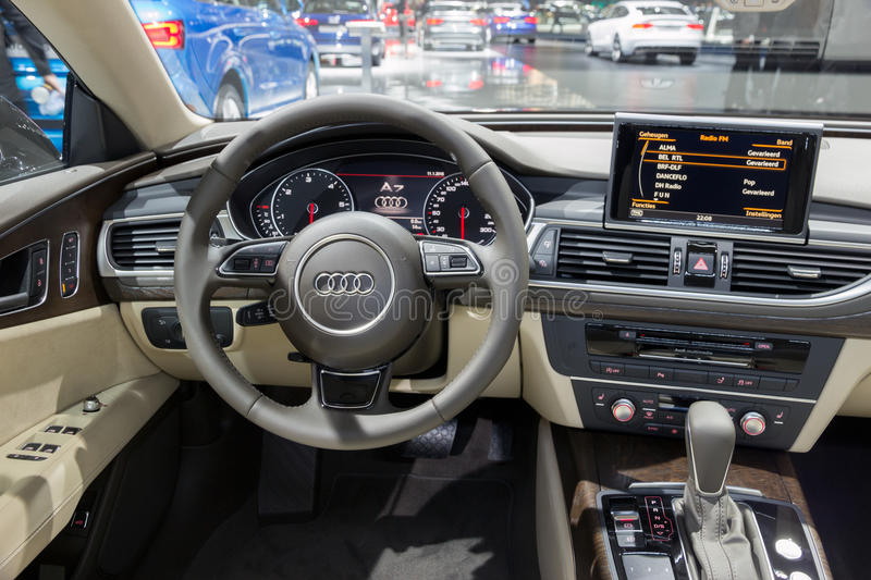 Download Audi A7 Interior Editorial Photography. Image Of Inside   65826082