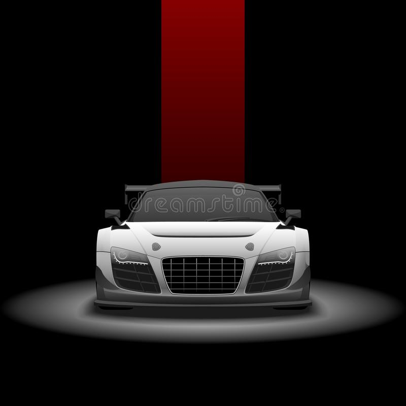 Audi lms ultra fotografia royalty free
