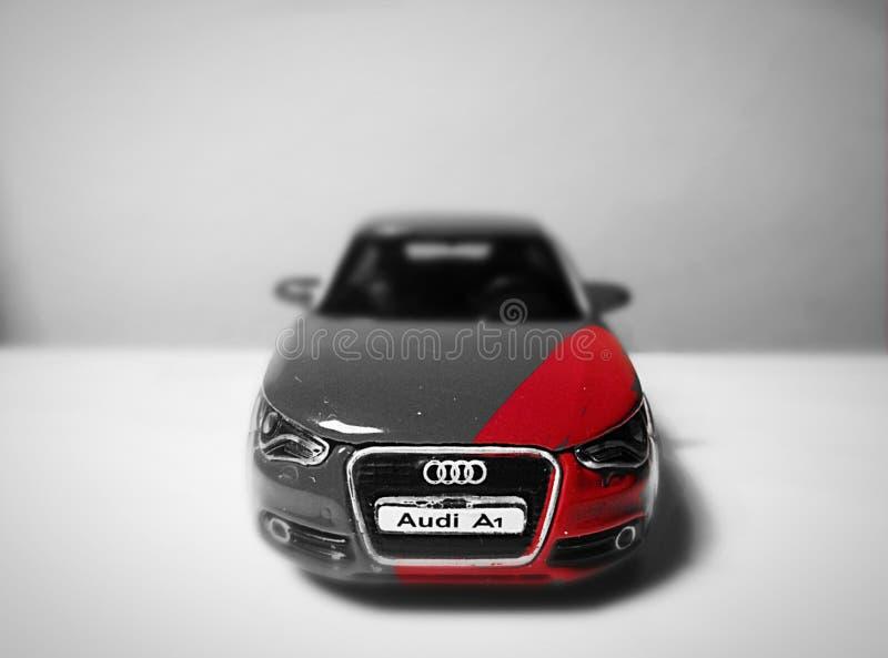 Audi A1 Ma première photo images libres de droits