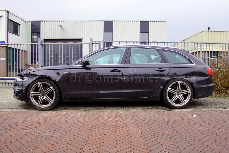 Audi nocivo A6 Avant fotografia stock