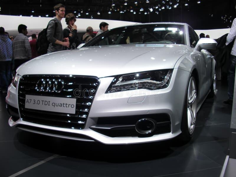 Audi novo A7 foto de stock royalty free