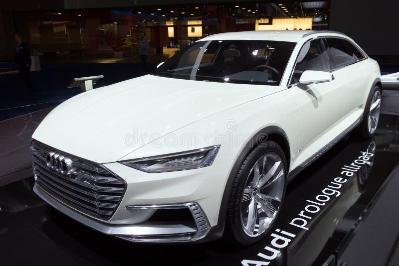 Audi Prologue Allroad stock foto's