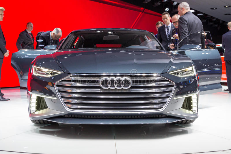 Audi Prologue Avant royaltyfri fotografi