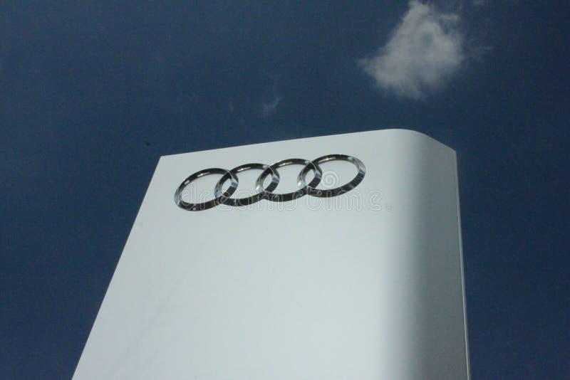 Audi Pylon images libres de droits