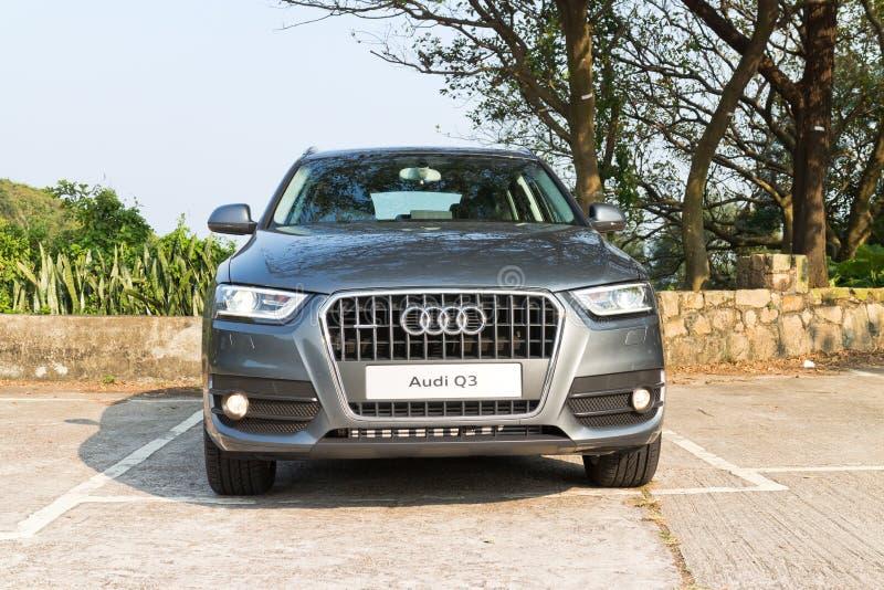 Audi Q3 SUV 2013 Model royalty free stock photo