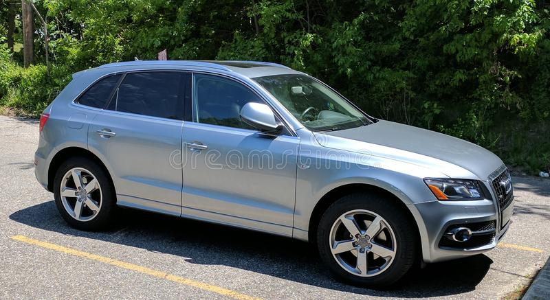 2011 audi q5 stock photography
