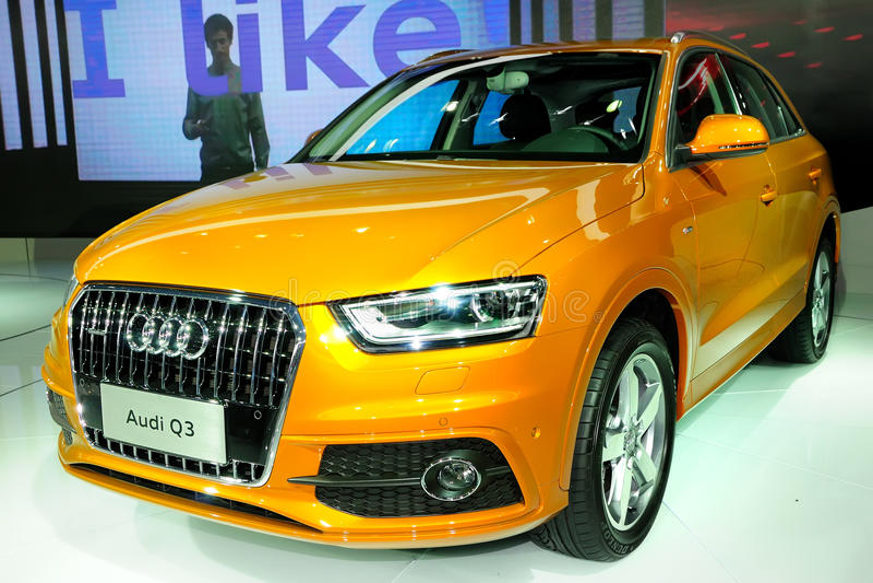 Audi Q3 SUV 免版税库存照片