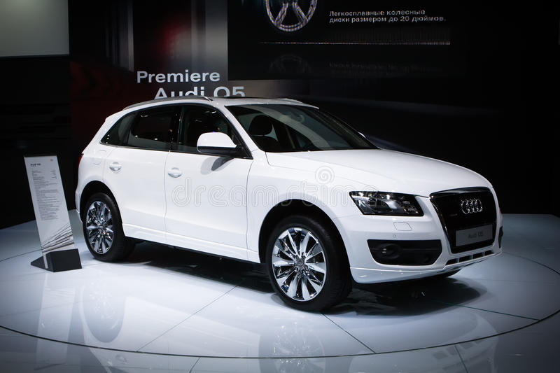 Audi Q5 at Moscow International exhibition