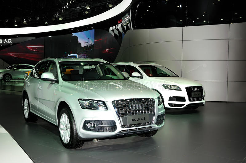 Audi Q5 SUV στοκ εικόνες