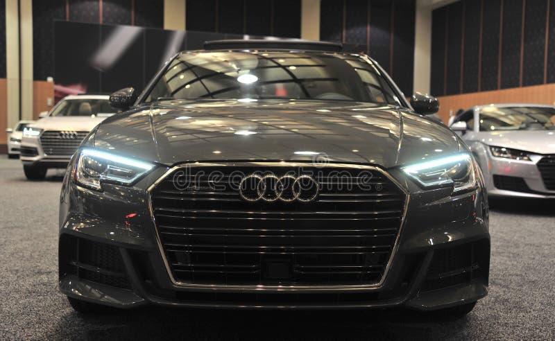 Audi Quattro Exotic Sports Car 2017 imagem de stock