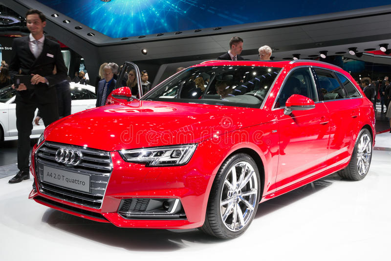 Audi A4 2 Quattro för 0 T royaltyfri foto