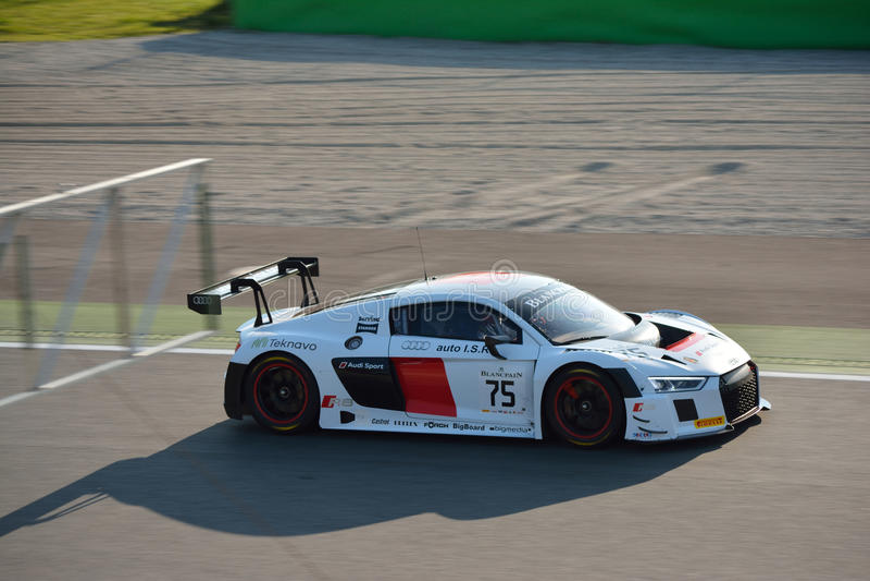 Audi R8 LMS Blancpain GT Endurance Series stock images