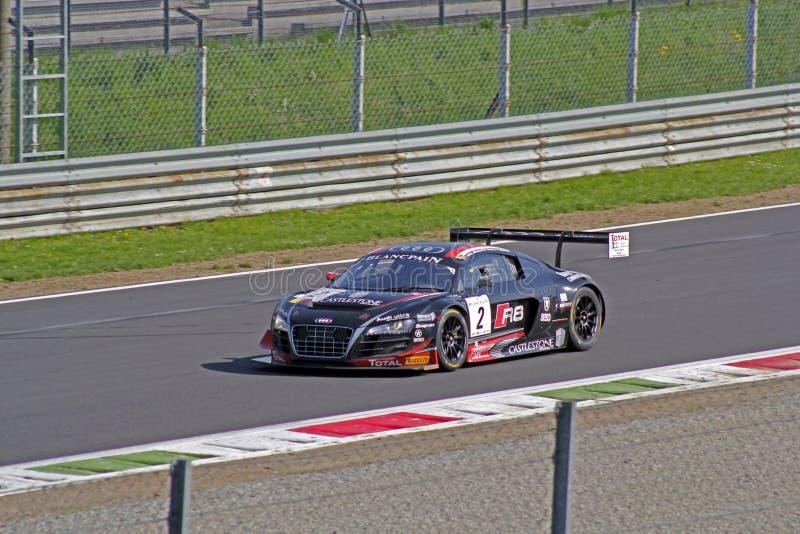 Audi r8 lms ultra royalty-vrije stock foto
