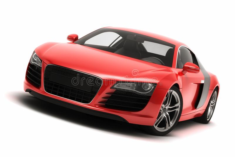 Audi R8 sportów samochód royalty ilustracja