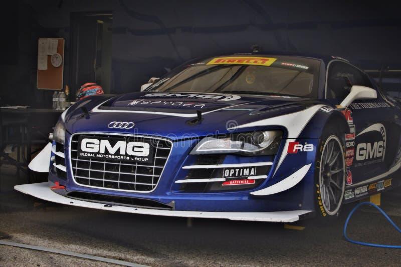 Audi R8 Spyder stock fotografie