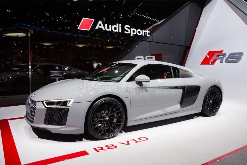 Audi R8 v10 arkivbilder