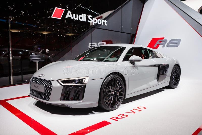 Audi R8 v10 imagenes de archivo