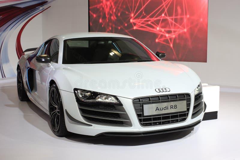 Audi r8 v10 car royalty free stock photo