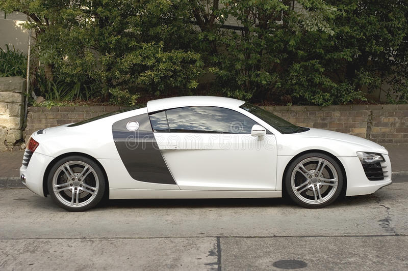 AUdi R8 foto de stock royalty free