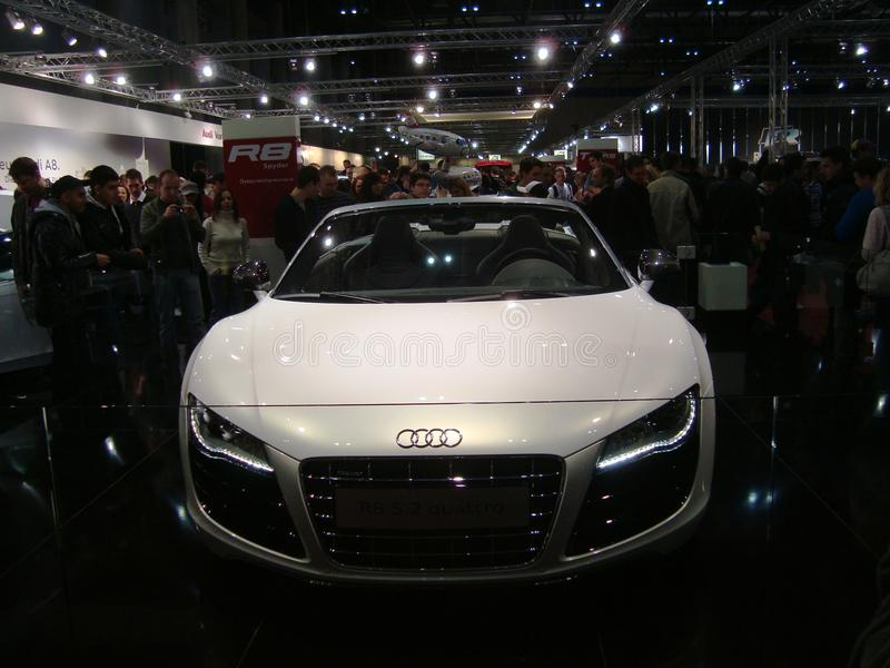 Download Audi R8 editorial stock image. Image of fair, luxurious - 18097939