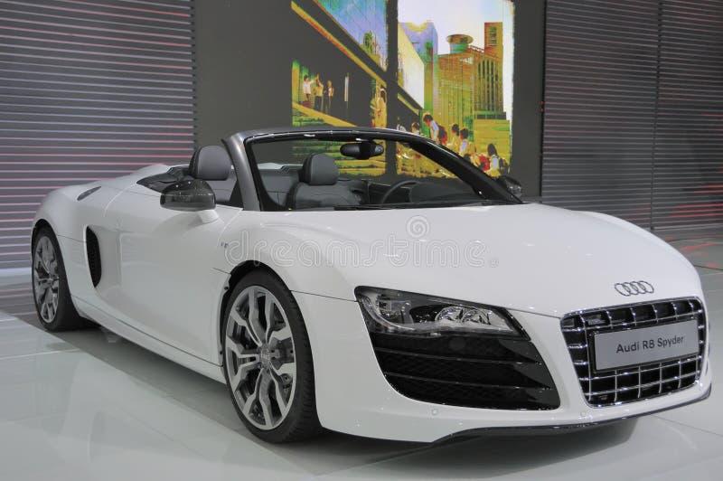 Audi R8 stock afbeelding