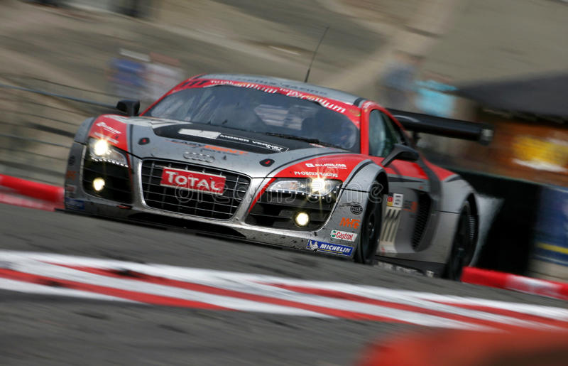 Audi R8(FIA GT=Spa24h). Audi R8, FIA GT Round.4=Spa 24h: in BELGIUM, Circuit Spa-Francorchamps, July 26. 2009. G2 Class No.111 Marcel fassler(GER)/Henri Moser( stock images