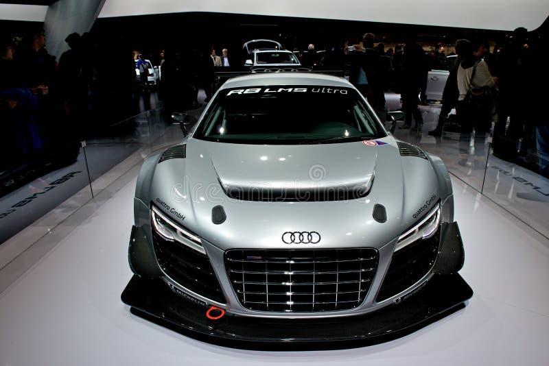 Audi R8 LMS ultra photographie stock libre de droits