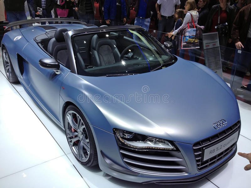 Audi R8 Quattro στοκ φωτογραφίες