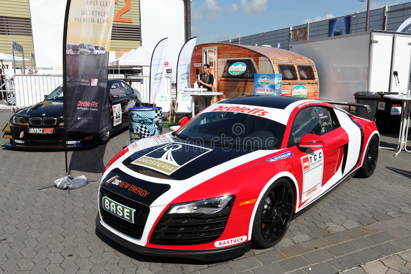 Download Audi R8 race car editorial photography. Image of camping - 26452467