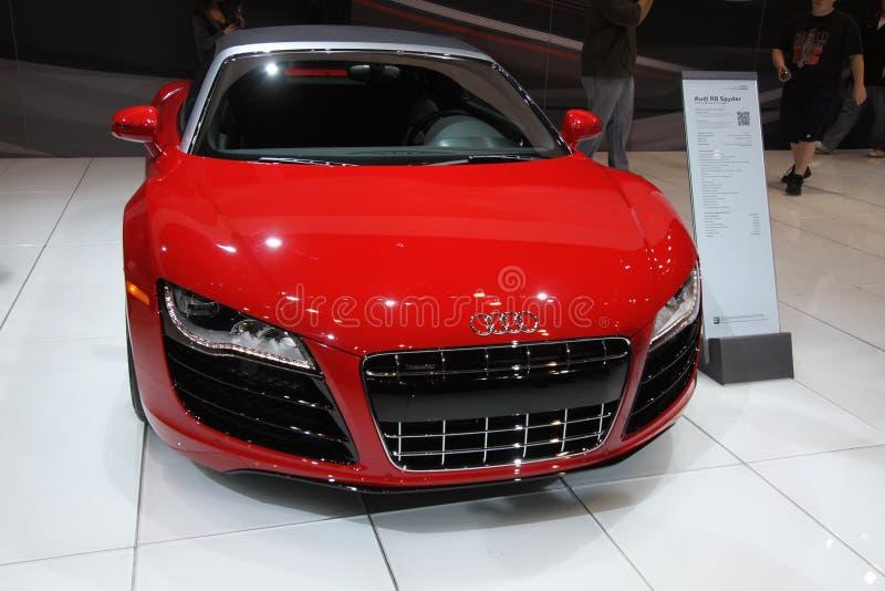 Download Audi R8 Spyder editorial photo. Image of auto, design - 18486551