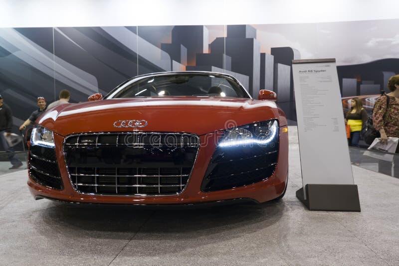 Download Audi R8 Spyder editorial image. Image of business, moonb007 - 23491410