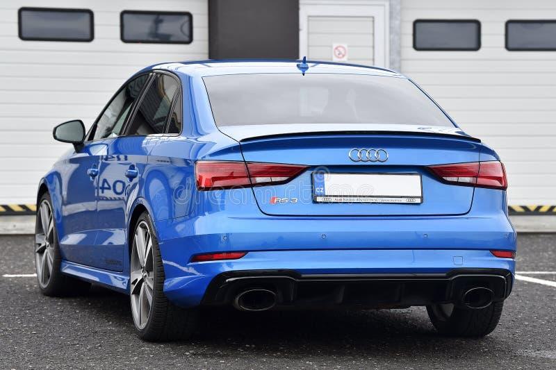 Audi RS3 image stock