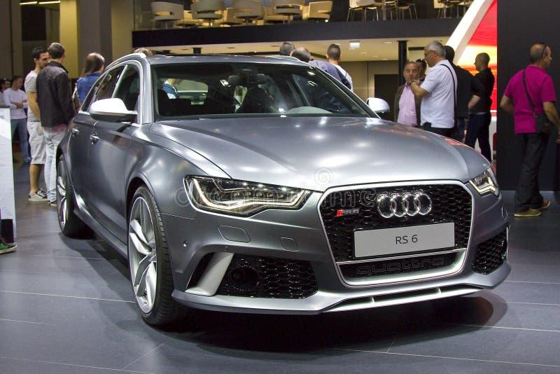 Audi RS6 photos libres de droits