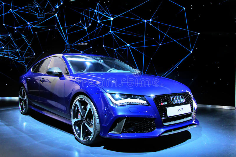 Audi RS7 photographie stock
