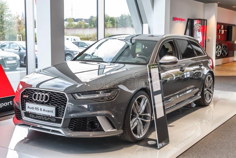 Audi RS 6 Avant fotografia stock libera da diritti