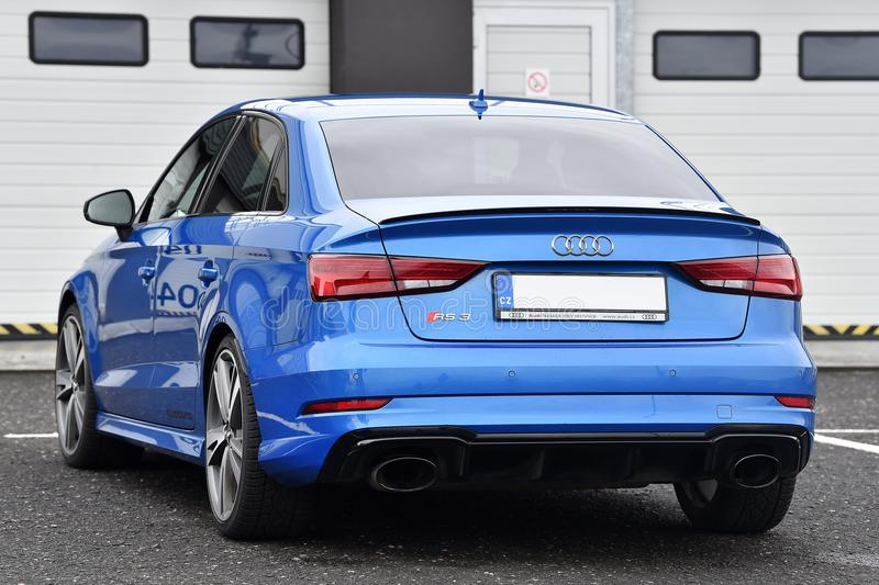 Audi RS3 stock image