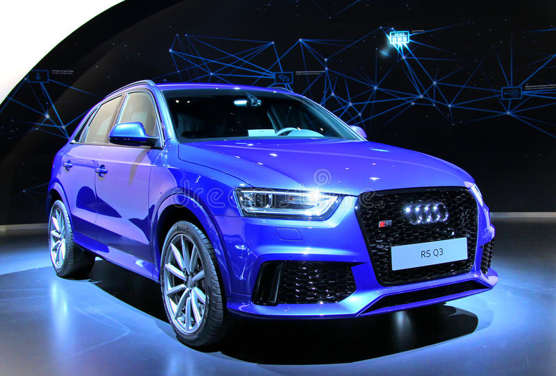 Audi RS Q3 photographie stock