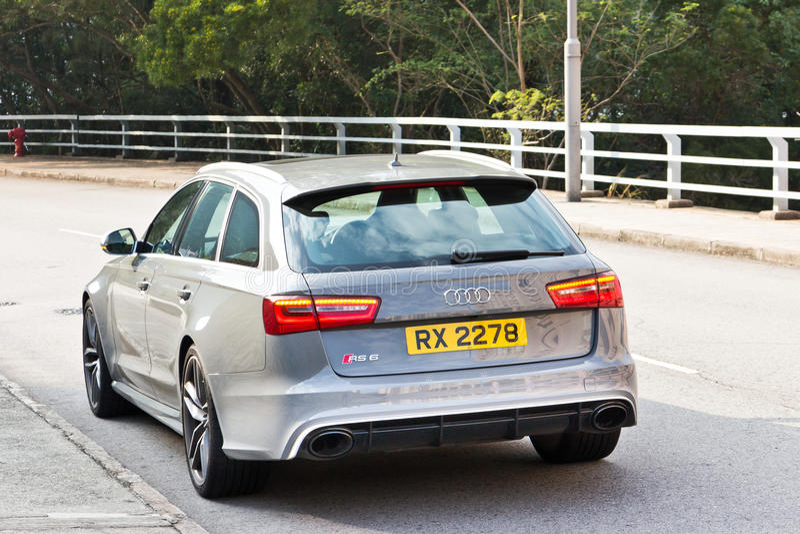 Audi RS6 sporta Avant 2013 Gorący model obraz royalty free