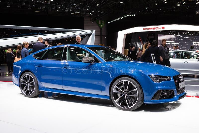 Audi RS7 Sportback fotografía de archivo libre de regalías