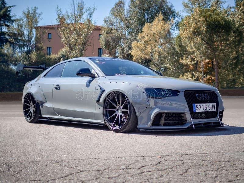 Audi S5 Coupe foto de archivo libre de regalías