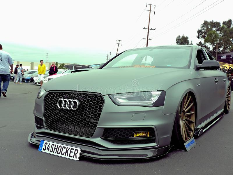 Audi S4 stock image