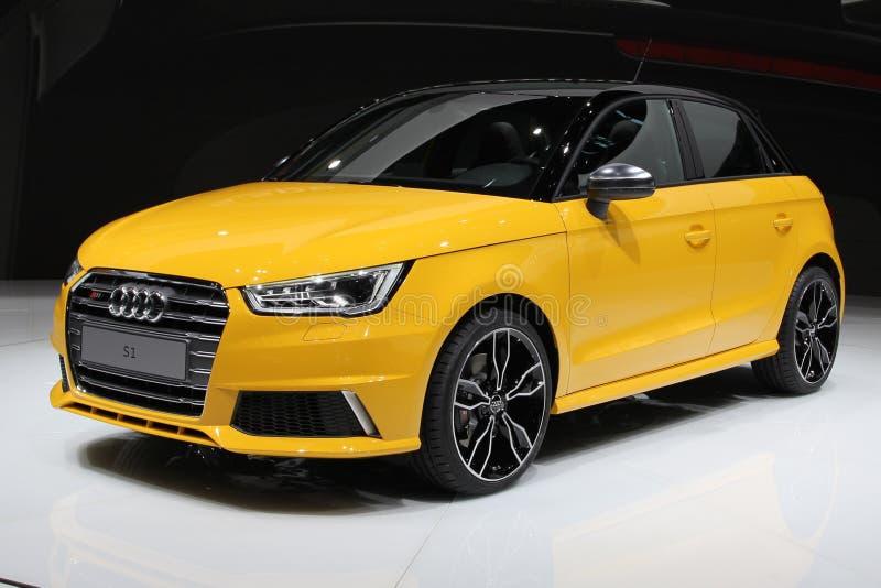 Audi 2014 S1 sul salone dell'auto di Ginevra fotografia stock