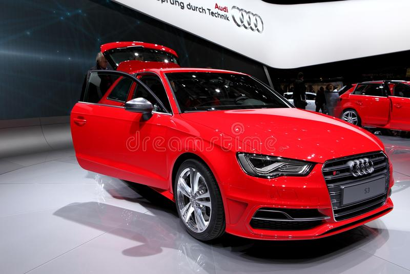 Audi S3 immagini stock libere da diritti