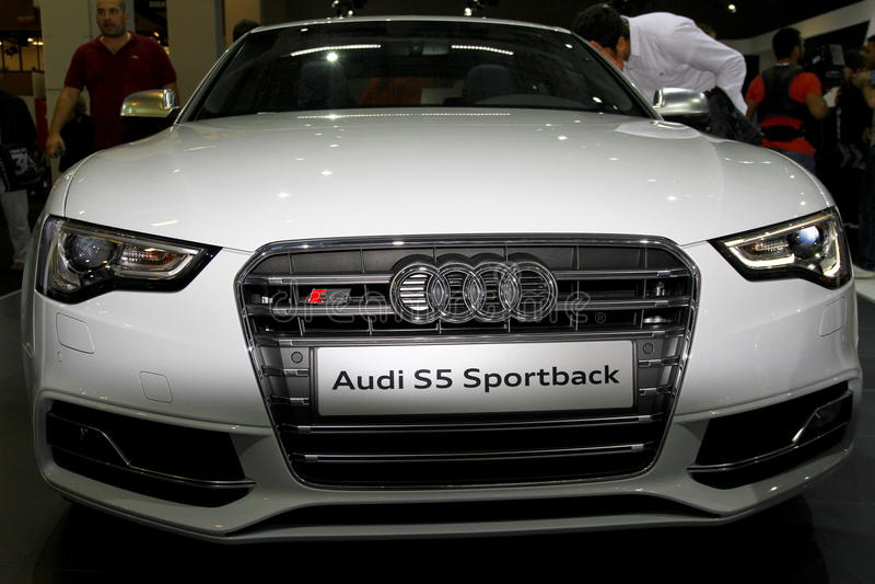 Audi S5 Sportback stockfoto