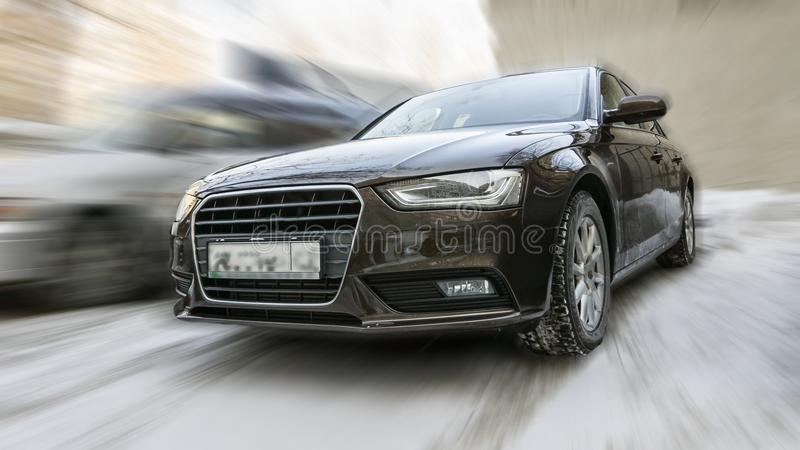 Audi samochód fotografia stock