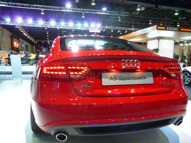 Audi Sportback stock images