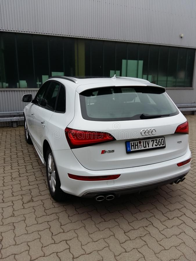 Audi SQ5 lizenzfreie stockfotografie